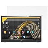 atFolix Schutzfolie für Xoro MegaPad 2704 Displayschutzfolie - 2 x FX-Antireflex blendfreie Folie