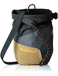 Mammut Kreidebeutel Rough Rider Chalk Bag - Bolsa de magnesio para escalada, color gris, talla One size