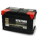 ULTRA POWER Batteria per auto 100Ah DX 800A pronta all'uso lunga durata potenza
