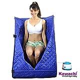 Kawachi Portable Steam and Sauna Bath Home Spa-I03 Blue