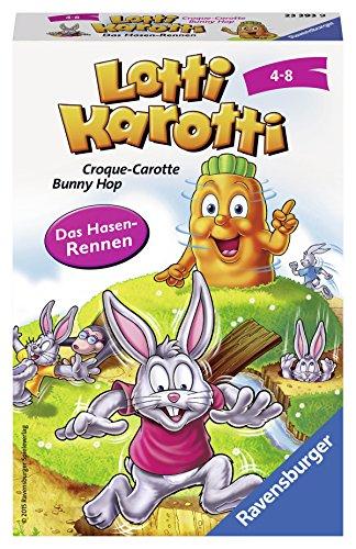 Ravensburger 23393 - Lotti Karotti - Hasenrennen, Mitbringspiel