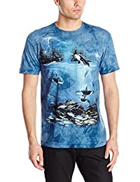 The Mountain Unisexe Adulte Dauphin Nuit D'Orage T Shirt