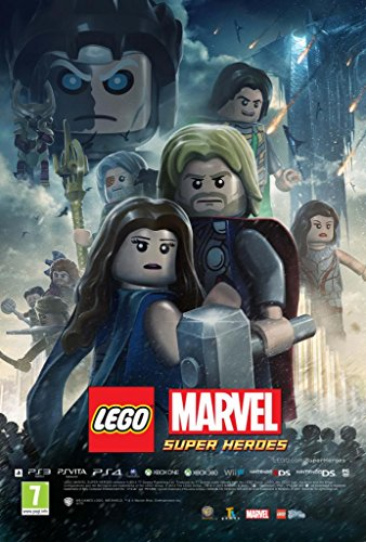 LEGO MARVEL SUPER HEROES - Imported Video Game Wall Poster Print - 30CM X 43CM Thor (Lego Thor Film)