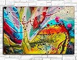 Stampa di Moda Immagini di Parete astratte per Soggiorno Camera da Letto Moderna Pittura a Olio Moderna su Tela