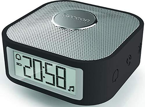 Oregon Scientific smarter Reisewecker mit Bluetooth-Lautsprecher und Freisprechfunktion für Smartphones Cp100-radio