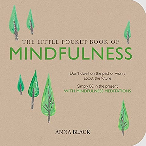 The Little Pocket Book of Mindfulness: Don't dwell on the past or worry about the future, Simple BE in the present WITH MINDFULNESS MEDITATIONS