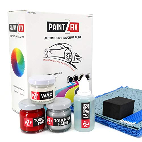 Price comparison product image PAINT2FIX Fiat Ducato Rosso Profondo Mica 255 / A Touch Up Paint - Scratch & Chip Repair Kit - Silver Pack