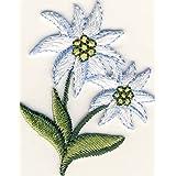 Edelweiss–Parche para planchar bordados Patch