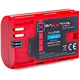BAXXTAR PRO-ENERGY Batterie pour Canon LP-E6 (2000mAh) avec Chip technology - Intelligent battery system