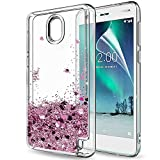 LeYi Nokia 2 Case with Screen Protector for Girls Women, 3D