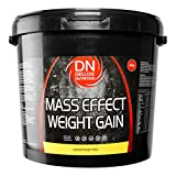 Deluxe Mass Effect Hi Calorie Weight Gainer 4kg Whey Protein Casein Glutamine Chocolate from Deluxe Nutrition