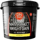 Deluxe Mass Effect Weight Gainer 4kg Chocolate Whey Protein Casein Glutamine
