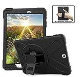 Coque Galaxy Tab S2 9.7, Hybride Housse Trois Couche Robuste Intégrale de Protection...