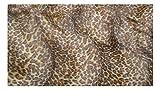 Fabrics de City beig/marrón animal plástico imitación pelo corto policíclicos Metro, 3497