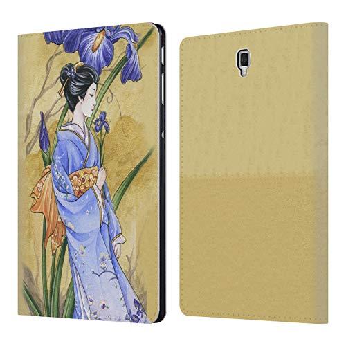 Head Case Designs Offizielle Meredith Dillman Iris Kimono Fantasy 2 Leder Brieftaschen Huelle kompatibel mit Samsung Galaxy Tab S4 10.5 (2018) -
