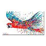 Farbe graffiti wandkunst leinwand malerei tier bild farbe