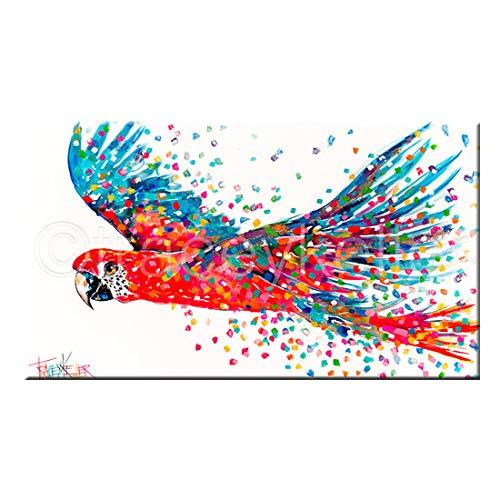 zgmtj Big Graffiti Art Running Horse Pintura Animal Imagen Decorativa Impresiones de...
