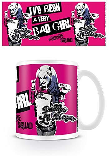 Harley Quinn Suicide Squad Bad Girl Daddys Little Monster Kaffeetasse Film