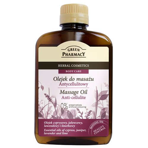 Newsbenessere.com 51rzpadAY6L Anti-Cellulite Massage Oil - Helps Reduce Cellulite by Encouraging Lymph Flow - Essential Oils of Juniper, Lavender, Cypress, Lime and Almond - 200ml