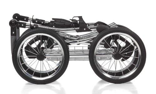 Knorr-Baby 36000-4 Kombikinderwagen Classico, hellgrau -
