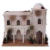 Holyart Casa araba con Cupola e Archi presepe