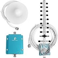 Proutone Mini-W-CDMA Teléfono Móvil UMTS 2100MHz Señal de Amplificador de Señal 3g Repetidor de Antena Yagi + Antena + Techo