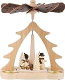 HoDreWa Legler 1-stöckige Pyramide Winterkinder - 22 cm