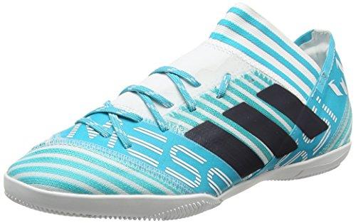 adidas Nemeziz Messi Tango 17.3 In, Chaussures de Football Homme Bleu (Footwear White/legend Ink/energy Blue)