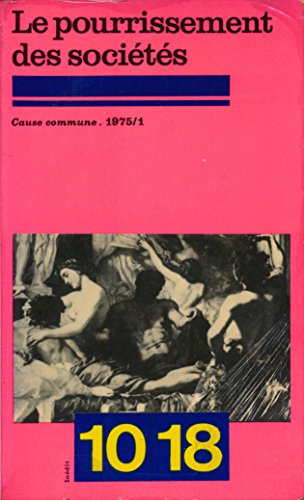 Cause commune N° 1, 1975