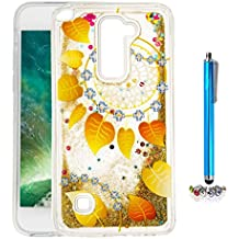 A9H Funda Transparente Dynamic Liquid Glitter Color Paillette Sand Quicksand arena movediza Star Back Cover Case para LG G4 Stylus2 LS775 shell -12HUA