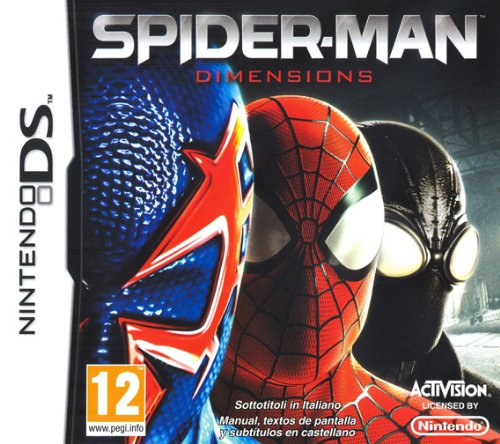 SPIDERMAN SHATTERED DIMENSIONS DS