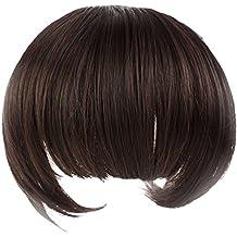 Gleader nueva muchacha precioso presilla de la fibra la pinza de pelo en frente flequillo golpea