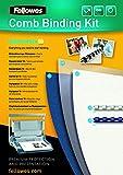 Fellowes 43859514724 Plastikbindung - Starter Kit für 10 Dokumente