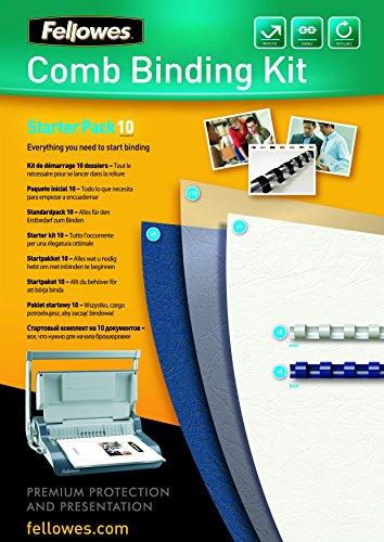 Preisvergleich Produktbild Fellowes 43859514724 Plastikbindung - Starter Kit für 10 Dokumente