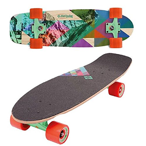 Street Surfing Cruiser 28 Skateboard da adulto, Rocky Mountain