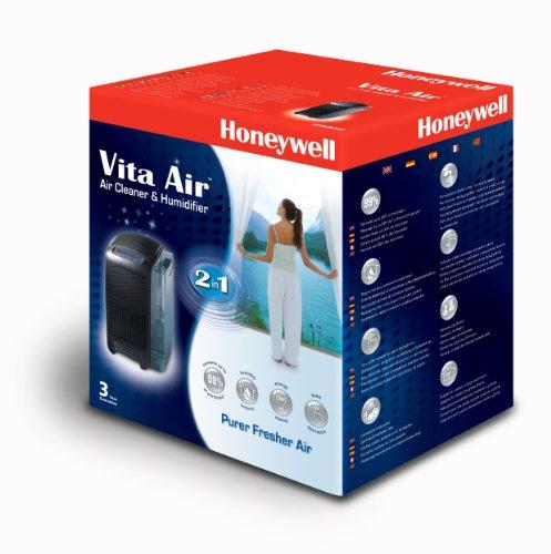 Honeywell HAW501E 2-in-1 Luftreiniger und Luftbefeuchter in dunkel / anthrazit - 3