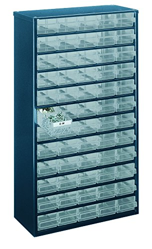 Raaco 1260-00 60-Drawers Steel Storage Cabinet - Blue for sale  Delivered anywhere in UK