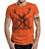 Jäger T-Shirt: Hunting Club II Orange XL