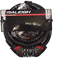 Raleigh Combo Lock 185cm x 8mm diameter cable