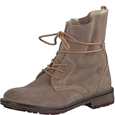 Tamaris Damenschuhe 1-1-26791-29 Damen Stiefel, Boots, Damen Stiefeletten, Herbstschuhe & Winterschuhe für Modebewusste Frau Braun (Taupe), EU 39