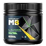 MuscleBlaze Micronized Glutamine Powder (0.56lbs, Unflavoured)