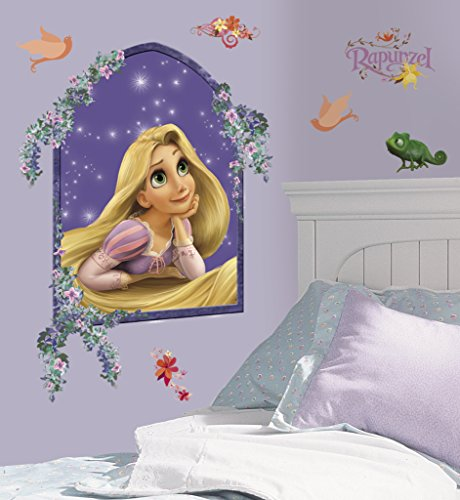 Asian Paints Nilaya Tangled - Rapunzel Giant wall stickers