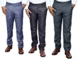 Indistar Combo Offer Mens Formal Trouser...