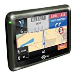 Mappy Mini 305 ND - GPS para coches de 3.5 ' (mapas de Iberia, pantalla táctil, USB), negro