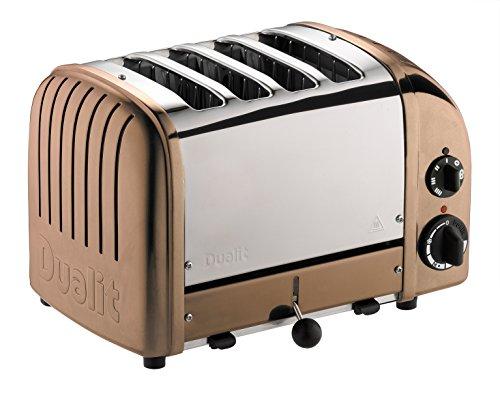 Dualit 47390 Classic New Gen Vario 4 Toaster, kupfer