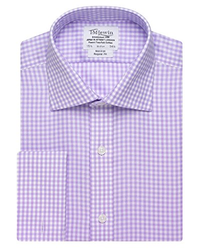 tmlewin-mens-non-iron-gingham-regular-fit-double-cuff-shirt-lilac-16