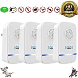 U-MISS Upgraded Ultrasonic Pest Repeller For Insects, Eco-Friendly, Human & Pet Safe Pest