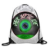 OQUYCZ Jacksepticeye Logo Sack Bag Drawstring Backpack Sport Bag