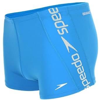 Speedo Mens Raise Aquashort Swimming Trunks - Blue - 38