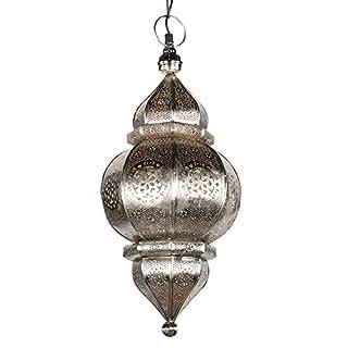 albena shop 71-0195 Kaja oriental lamp H 50cm / ø 23cm (silver)